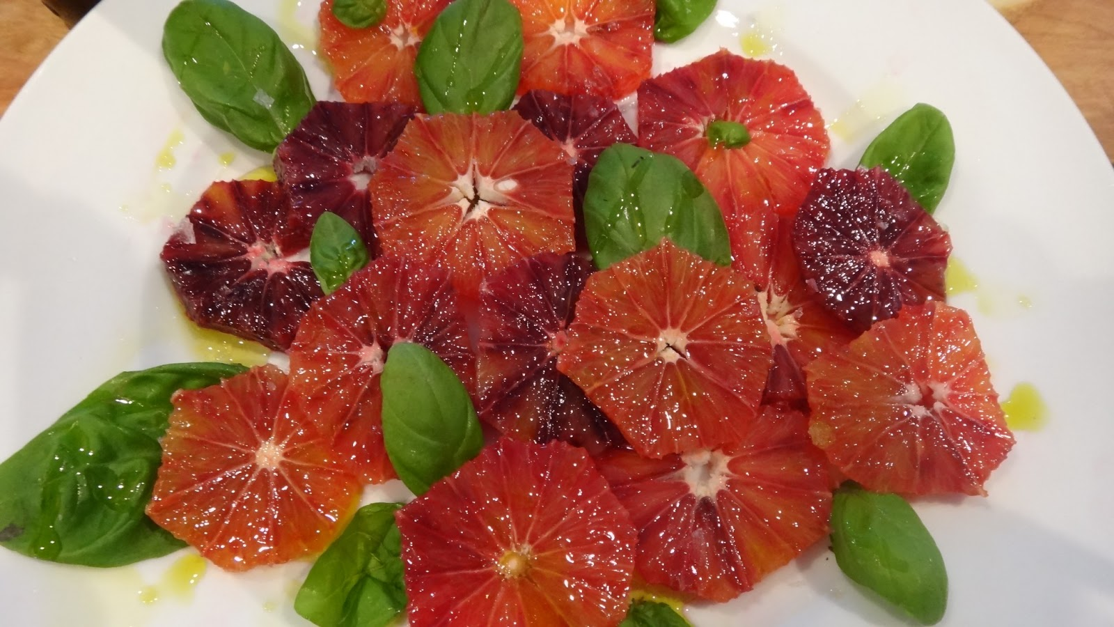I want to cook that: Blood Orange Slices with Olive Oil ...