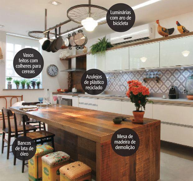 Rústico & Chique Cozinha estilo de fazenda # Armario De Cozinha Estilo Fazenda