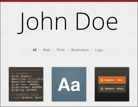 Build a Responsive, Filterable Portfolio, with CSS3 Twists
