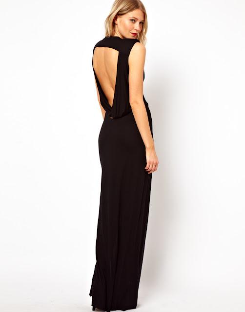 sexy back maxi dress