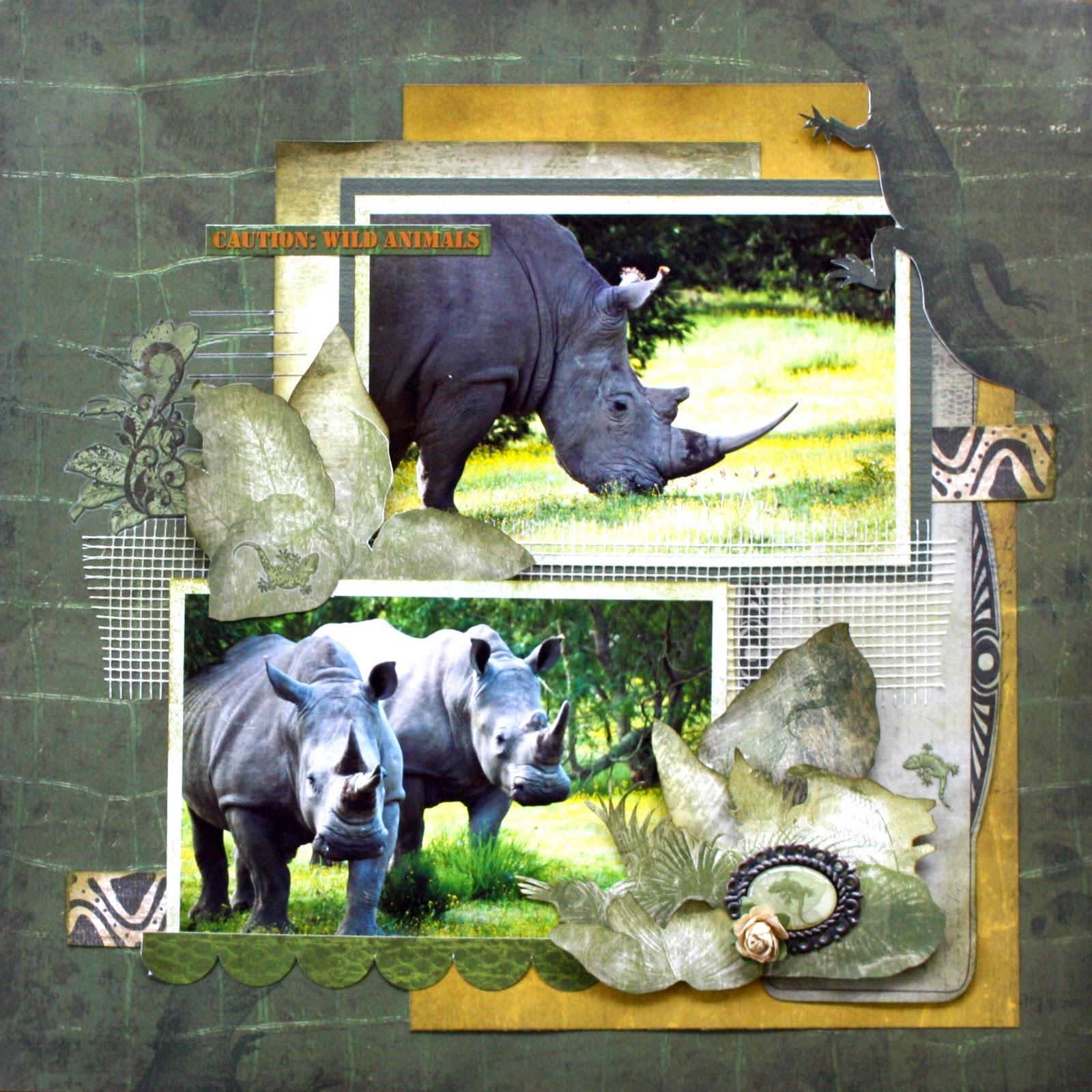 Scrapbook ideas zoo - Wet Weather Timetable Bobunny Zoology Layouts