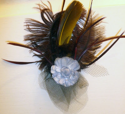 Ladyofashion DIY feathers Headdress