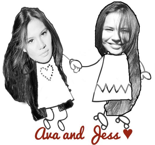 Ava and Jess ♥