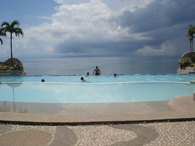 infinity pool in Lalimar Beach Resort in Negros Occidental