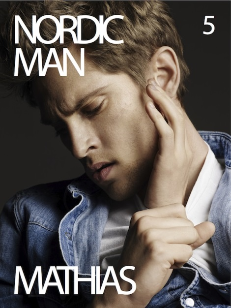 Mathias Lauridsen on the Cover of Nordic Man #5