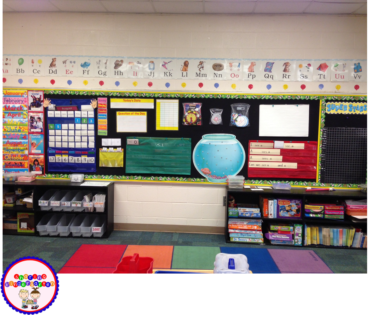 Kindergarten Calendar Time : Calendar time summer linky party sharing kindergarten