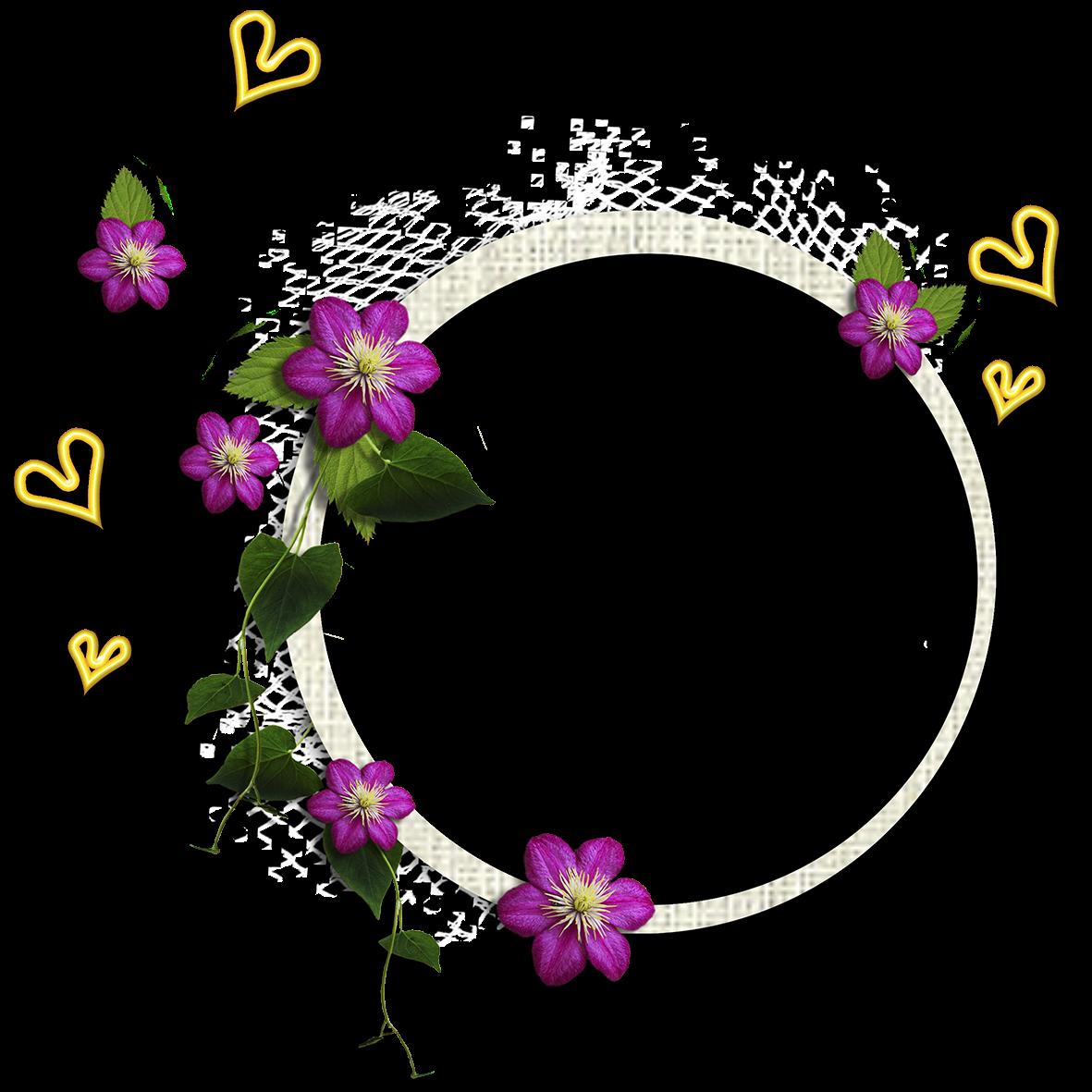 La p gina de inesita marcos de flores - Marcos de fotos grandes ...