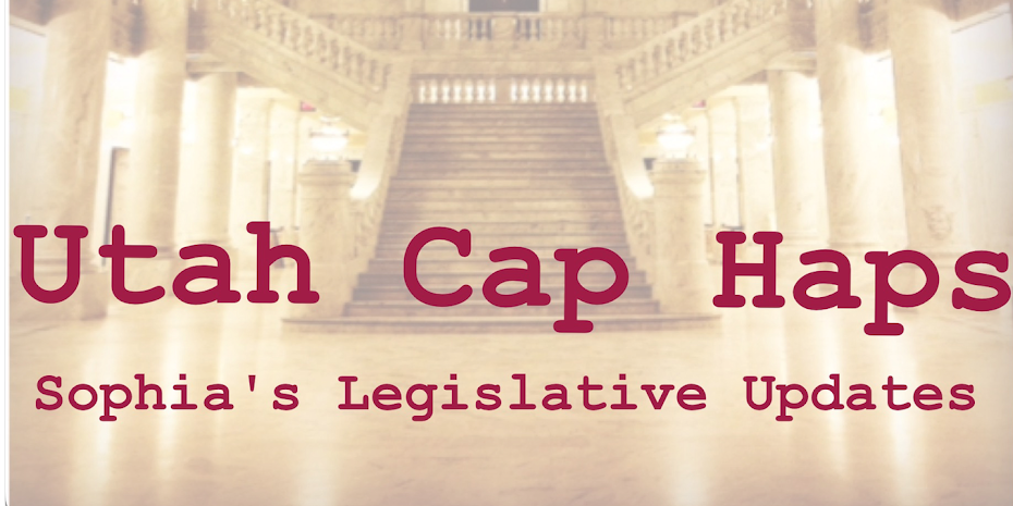 Utah Cap Haps Blog