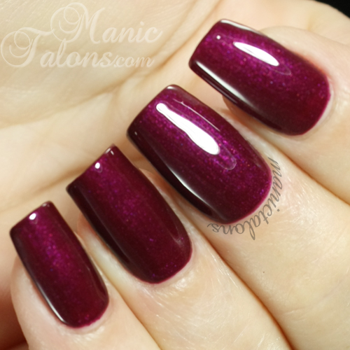 IBD Just Gel Bella Boudoir Swatch