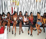 Nigeria's next super model 2010 contestants.
