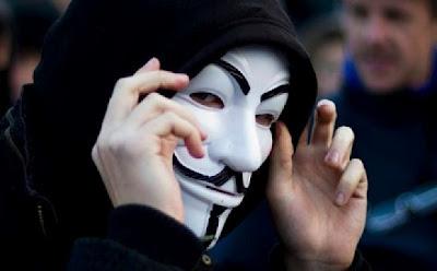 Gambar-gambar Topeng Anonymous Ukuran Besar