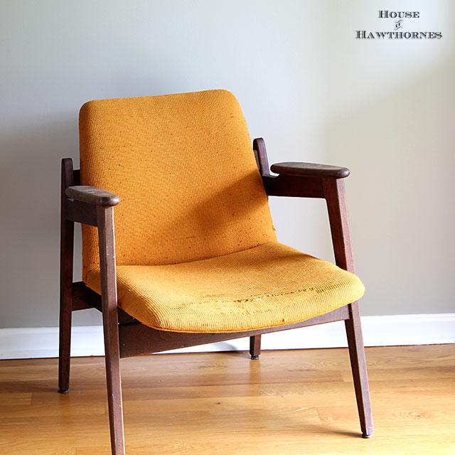 Mid Century Modern Chair from Marble Chair Company - via houseofhawthornes.com
