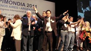 APIMONDIA 2011 - UN MOMENTO INOLVIDABLE