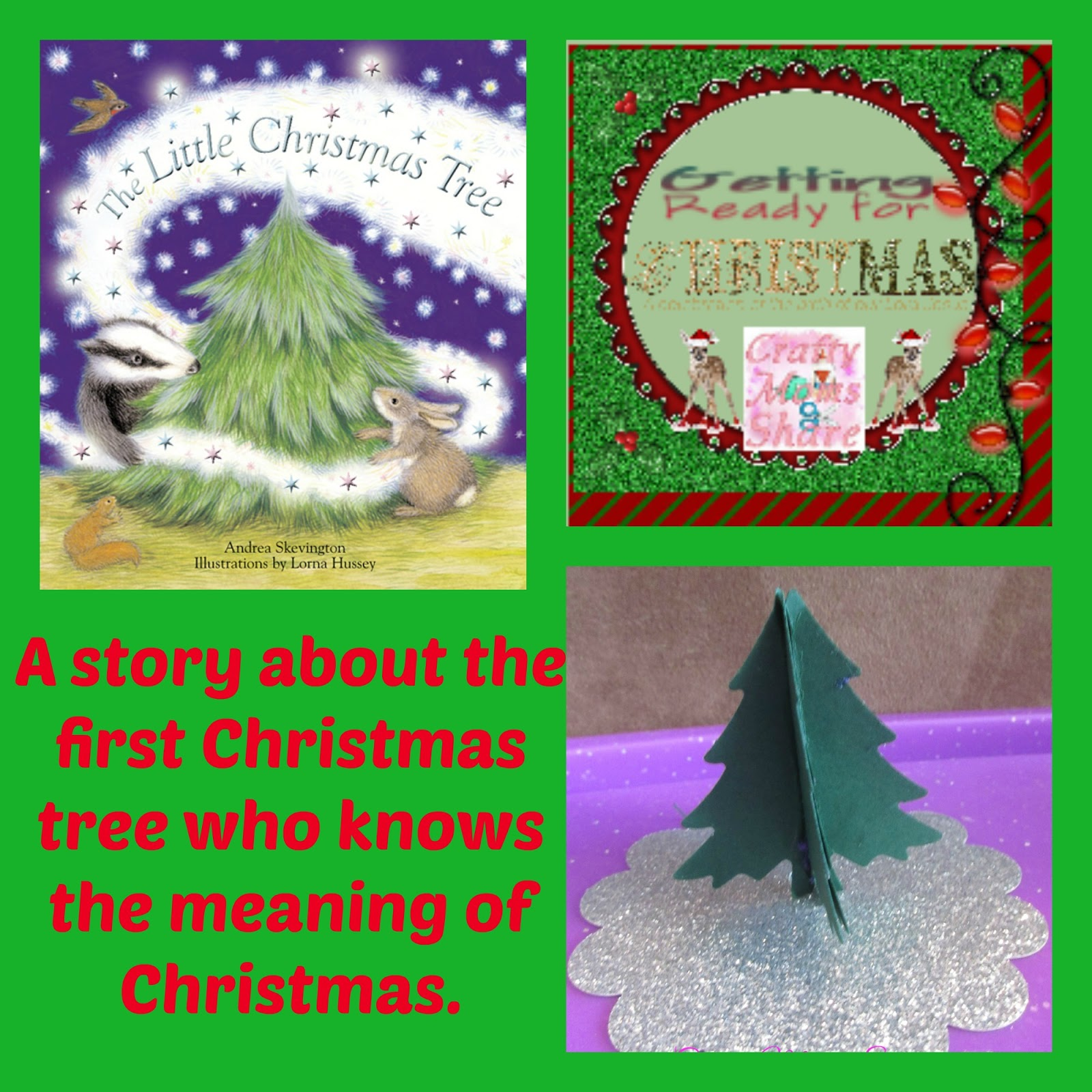Crafty Moms Share The Little Christmas Tree Book