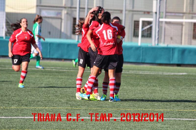 Triana C.F. Femenino. Temp.2013/2014