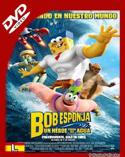 Bob Esponja: Un Heroe Fuera Del Agua (2015) DVDRip Latino