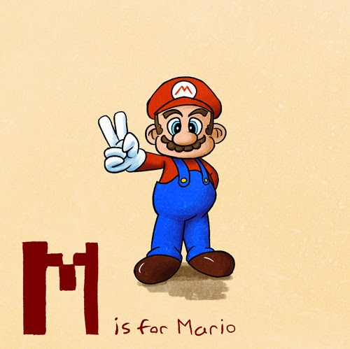 http://keithaerickson.deviantart.com/art/M-is-for-Mario-128790291