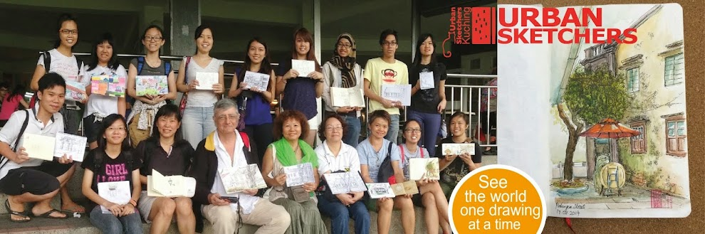 Urban Sketchers Kuching