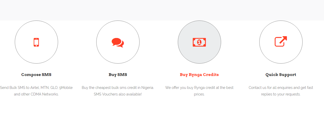 We provide the cheapest bulk sms service & We offer you best Rynga credit
