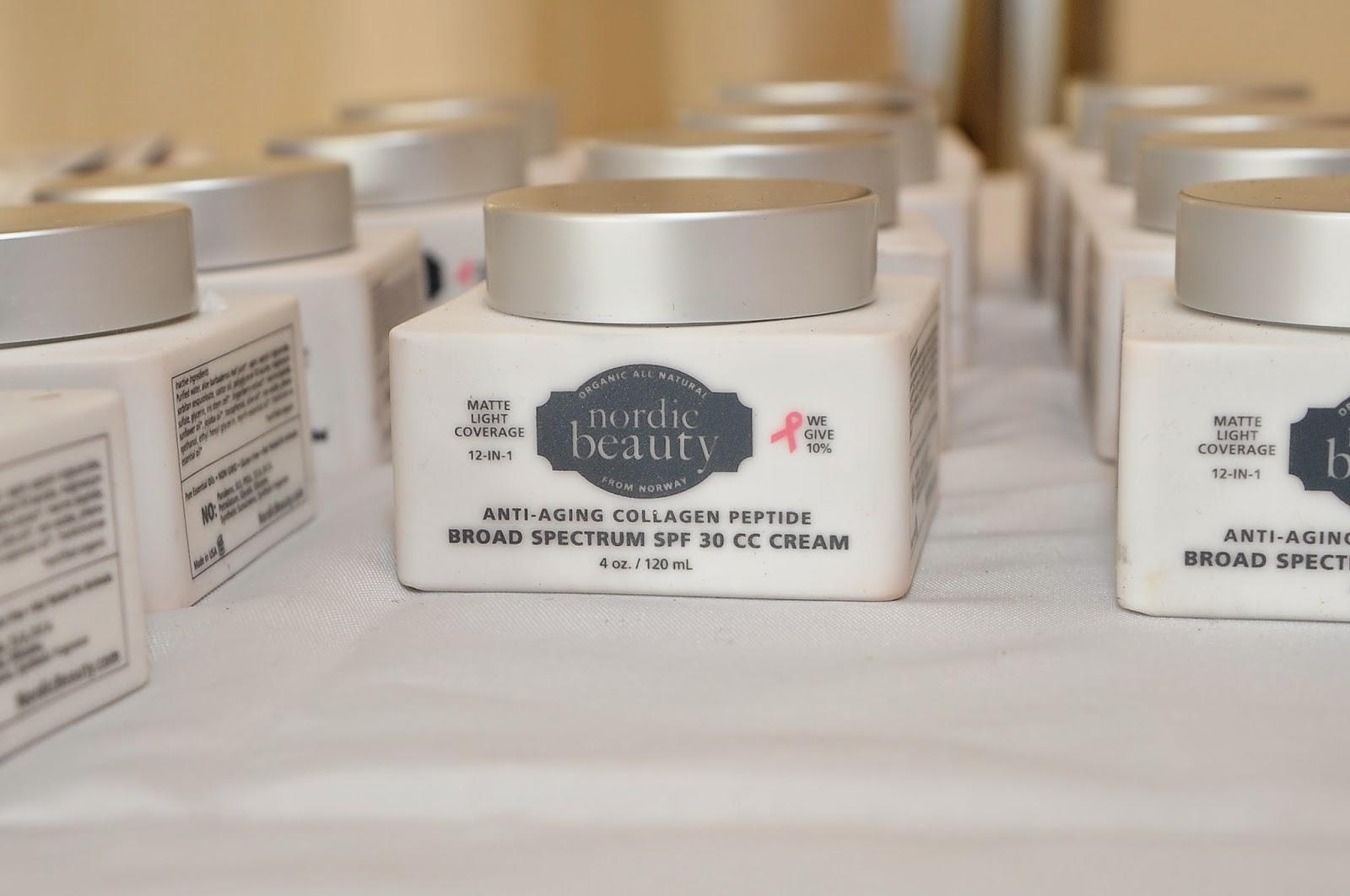 Nordic Beauty, skin care, Marine Collagen Peptides, SPF 30 CC Cream