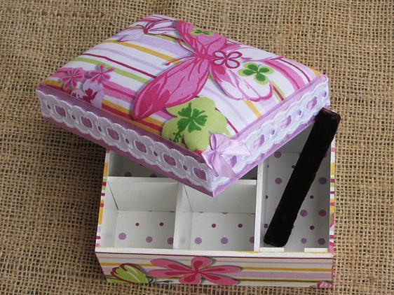 Как из обувной коробки сделать шкатулку