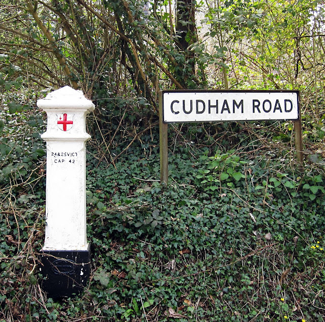 The coal tax post in Cudham Valley