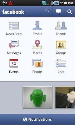 Facebook Update Versi 1.6.1 untuk Android