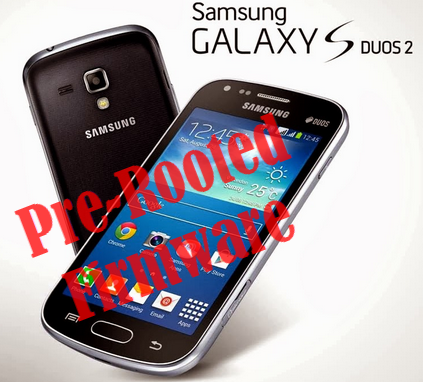 Samsung Galaxy S Duos 2 GT-S7582 Pre-Rooted Firmware
