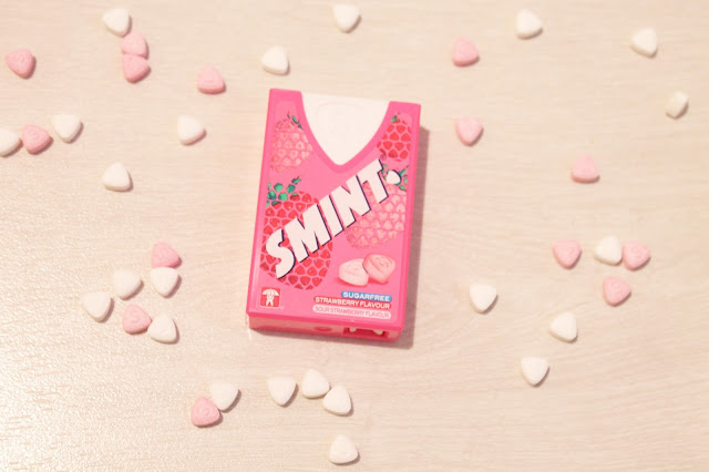 strawberry sugar free smints for breast cancer awareness month