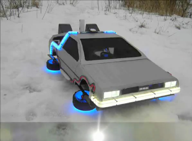 Coolest Excerpt Back To The Future Flying Time Machine