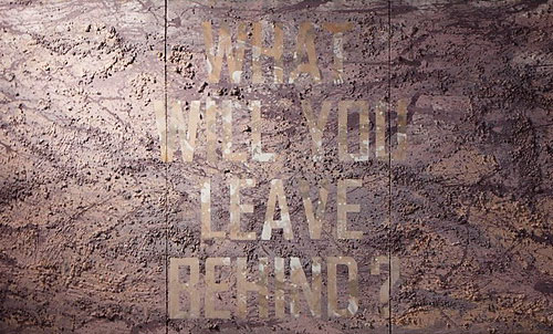 Yi Wei Lim, yiweilim, nino sarabutra, thai art, thai artist, what will you leave behind, life, death