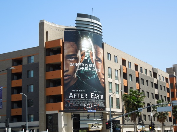 After Earth billboard