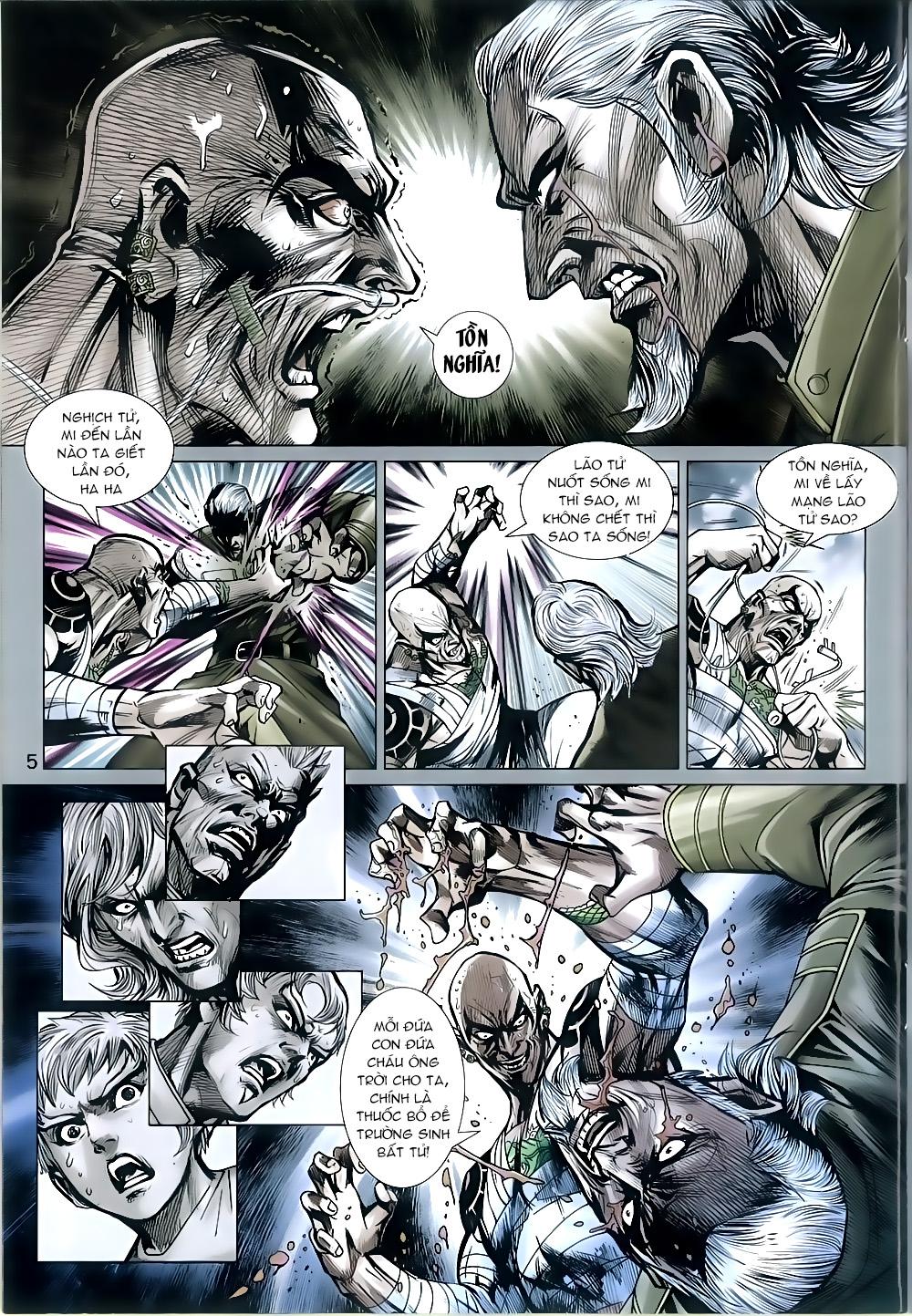Tân Tác Long Hổ Môn chap 815 Trang 5 - Mangak.info