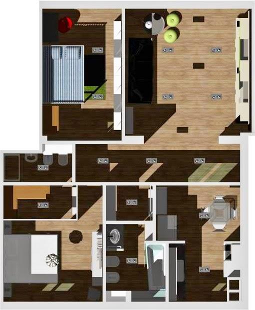 Outfitcasa una casa a colori in 70 mq for Ospitare qualcuno in casa