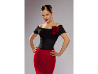 Imelda May, Red Skirt, Photo Credit Chris Clor