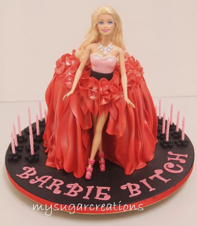 My Sugar Creations 001943746 M Barbie Doll Cake