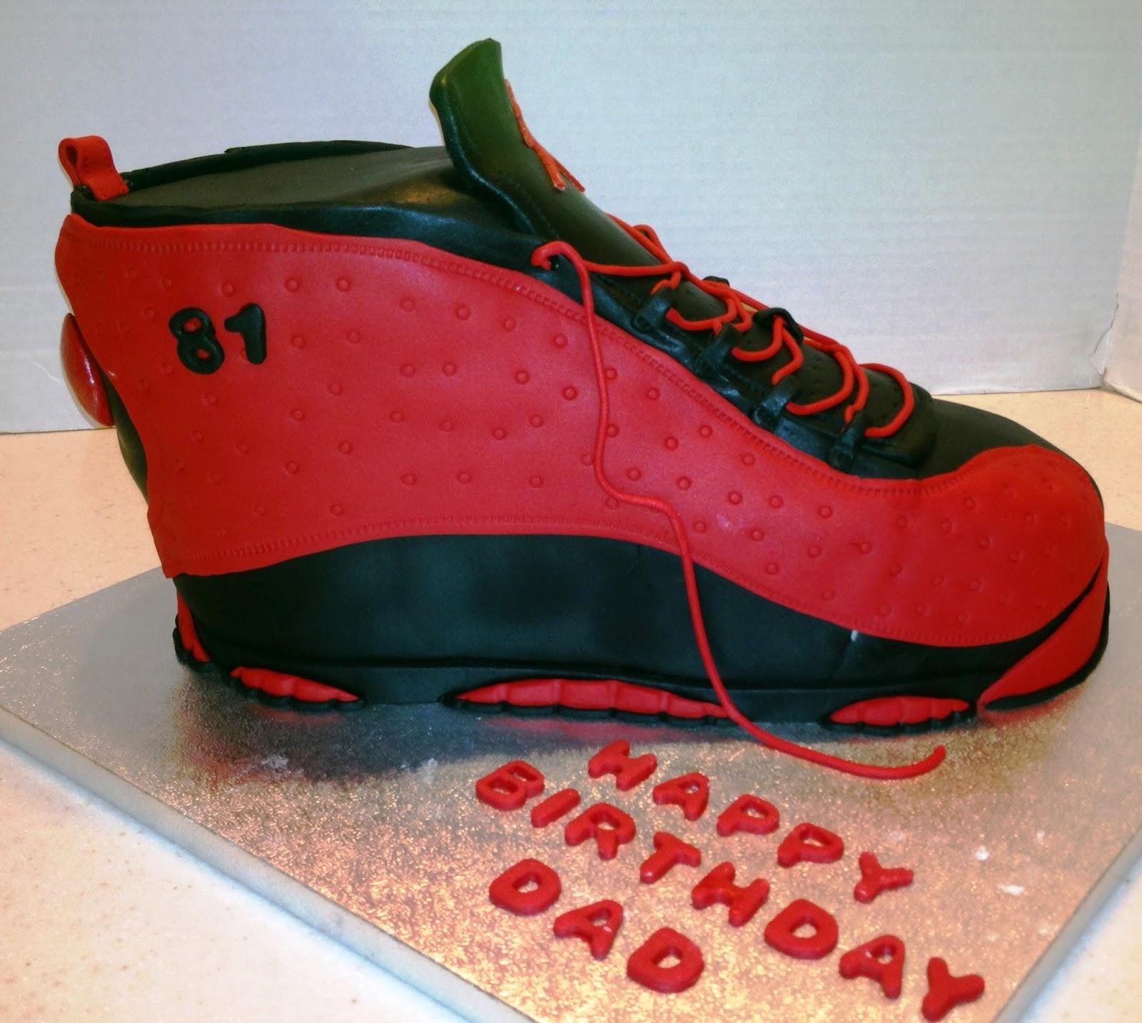 Marymel Cakes Jordon Runner Birthday Cake