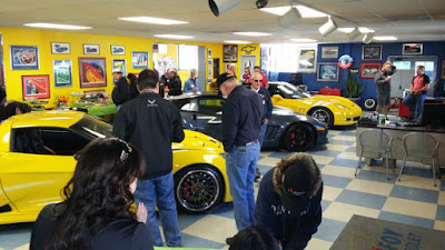 Purifoy Chevrolet Corvettes and Coffee