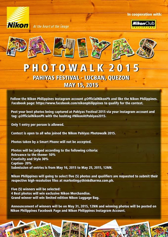Pahiyas Festival 2015 Photo Walk and Photo Contest in Lucban Quezon