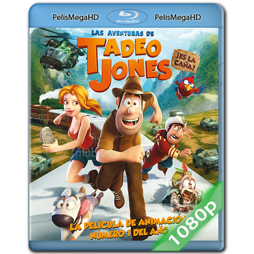 Las Aventuras De Tadeo Jones (2012) 1080p HD MKV Castellano