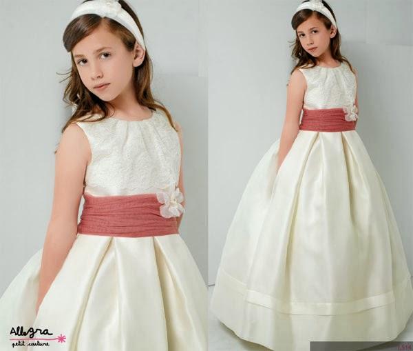 Tejidos para vestidos de comunion