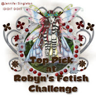 I got a Top Pick at Robyns Fetish