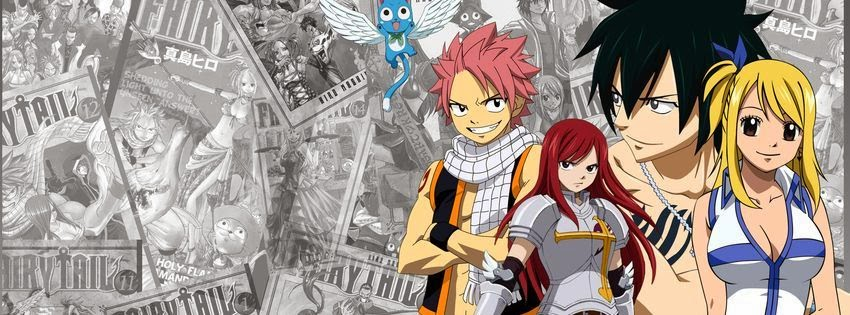 Belle couverture facebook fairy tail