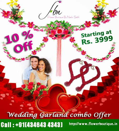 wedding garlands in India