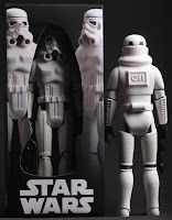 "Star wars knock off gentle giant 12"" stormtroopers vintage trilogy collection kenner 77 toys action figures cutoms bootlegs knock-offs"