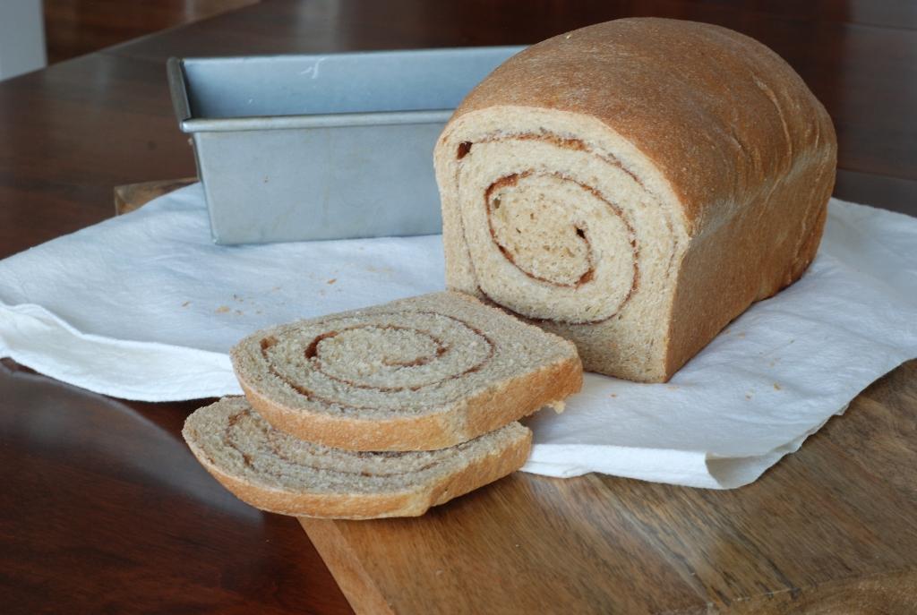Simply So Good: Whole Wheat Cinnamon Swirl Bread