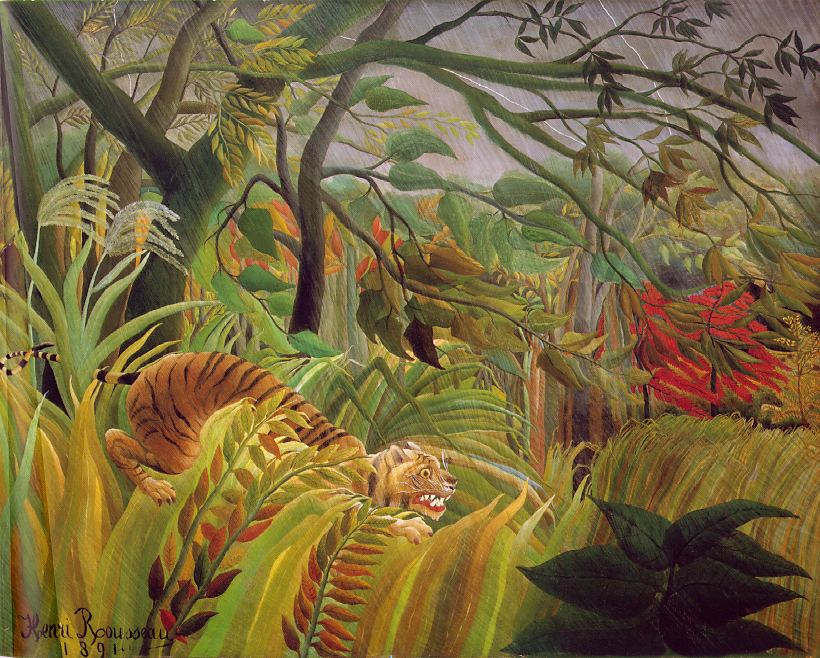 Mitchell Johnson blog: Henri Rousseaurousseau paintings