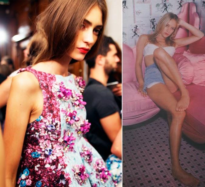 Inspiración rosa Erdem Chloe Sevigny