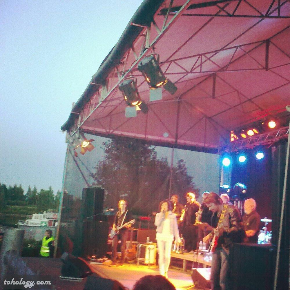 Paula Koivuniemi on Mikkelin Soikoon festival