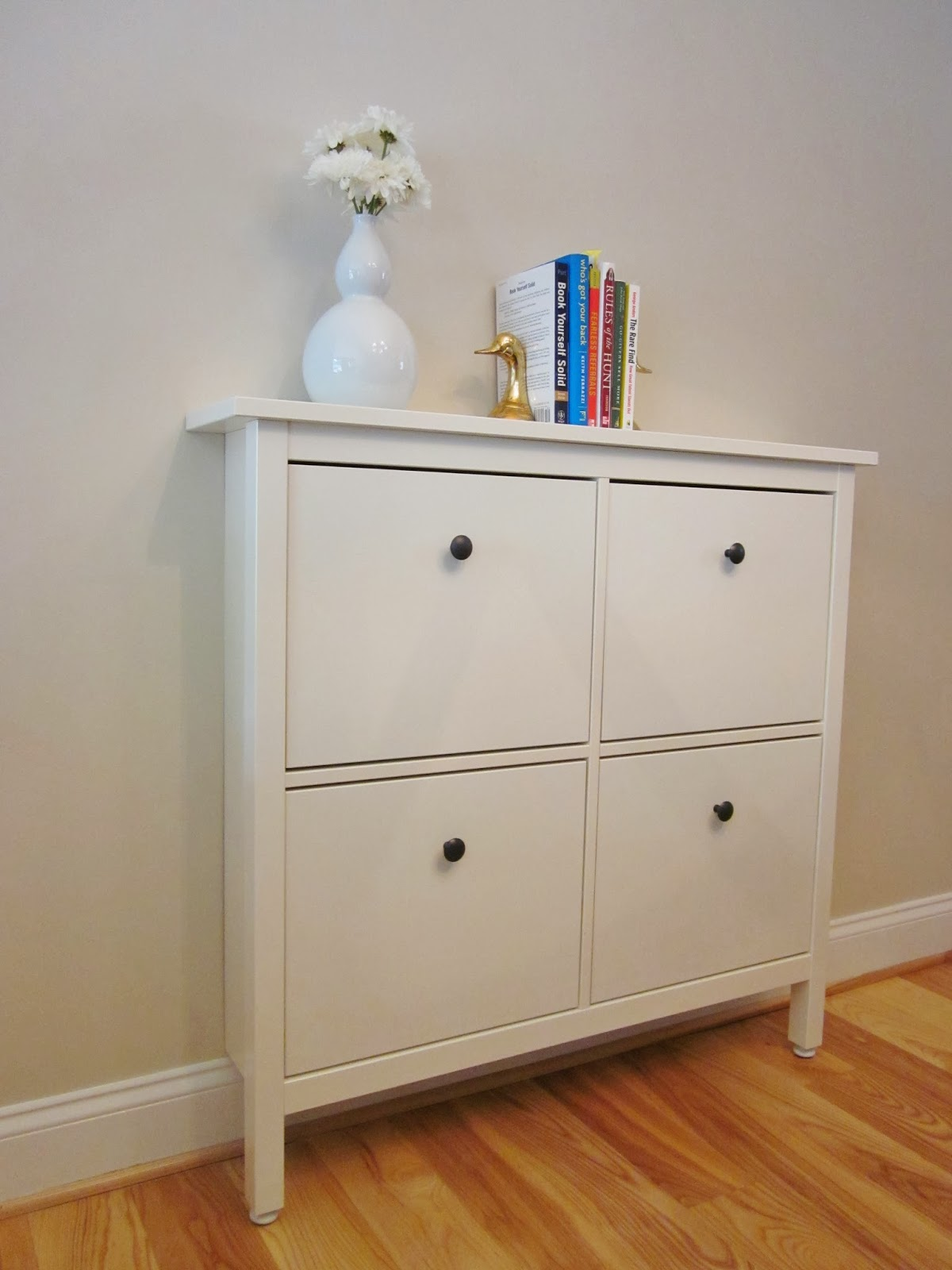 BonnieProjects Small Space Solution IKEA Hemnes As A Buffet